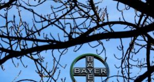 Sales at Bayer's crop science division increased 84%  last quarter, boosted by the addition of Monsanto. Photograph: Ina Fassbender/Reuters