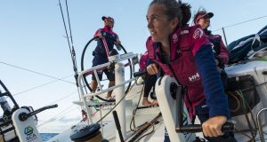 Libby Greenhalgh: a veteran of Olympic sailing teams, she is also familiar with Irish waters