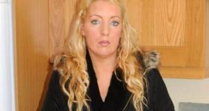 Cathal O'Sullivan (45) is on trial accused of beating  Nicola Collins (pictured) to death in his flat on Popham's Road, Farranree, Cork  on March 27th, 2017. Image: Provision.