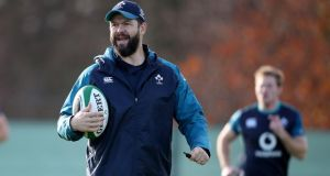 "Andy Farrell: ""I think fear drives players like that because they want to perform against the best.""  Photograph: Dan Sheridan/Inpho"