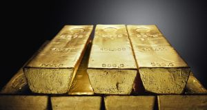 GoldCore is initially targeting 0.5 per cent of the $300 billion (€267 billion) worth of gold bars stashed around London, the world's biggest gold trading centre. Photograph: Neil Hall/Reuters