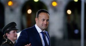 Taoiseach Leo Varadkar corrected himself in the Dáil shortly after he criticised food supplements as 'snake oil'. Photograph Nick Bradshaw/The Irish Times.