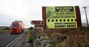 The biggest difficulty   was the UK and EU agreeing on a way to avoid the return of a hard Irish border. Photograph:  Paul Faith/AFP