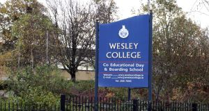 Wesley College has written to parents to say it has  become aware of an attempt to abduct a   pupil while the student was  returning home from a work experience placement near the Dundrum Centre in Ballinteer last Friday. File  photograph: Cyril Byrne