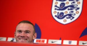 "Wayne Rooney: ""I'll take away being the record goalscorer and representing my country 119 times and feeling immense pride at having done that.""   Photograph:  Nick Potts/PA"