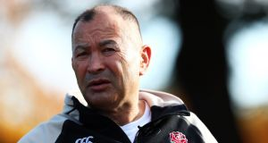 Eddie Jones head coach of England speaks during England media access at Pennyhill Park. Photo: Clive Rose/Getty Images