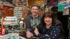 Tim Forde and his wife Ann in their shop in Mitchelstown, Co Cork. Photograph: Michael Mac Sweeney/Provision