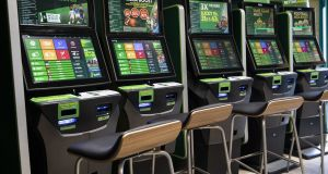 Studies have linked betting terminals to a rise in problem gambling in the UK. Photograph: Getty