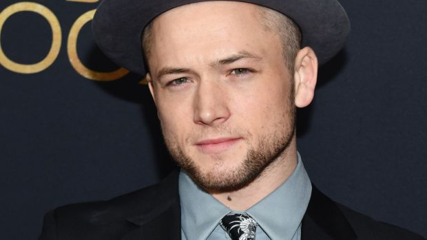 "Taron Egerton: ""I do feel lucky and I don't take any of it for granted. But I also believe in myself."" Photograph: Noam Galai/Getty Images"