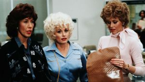 Lily Tomlin, Dolly Parton, Jane Fonda in the 1980 film 9 to 5. Photograph: 20th Century Fox/Kobal/REX/Shutterstock