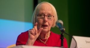 Ms Justice Mary Laffoy, president of the Law Reform Commission, which held its annual conference on Wednesday.