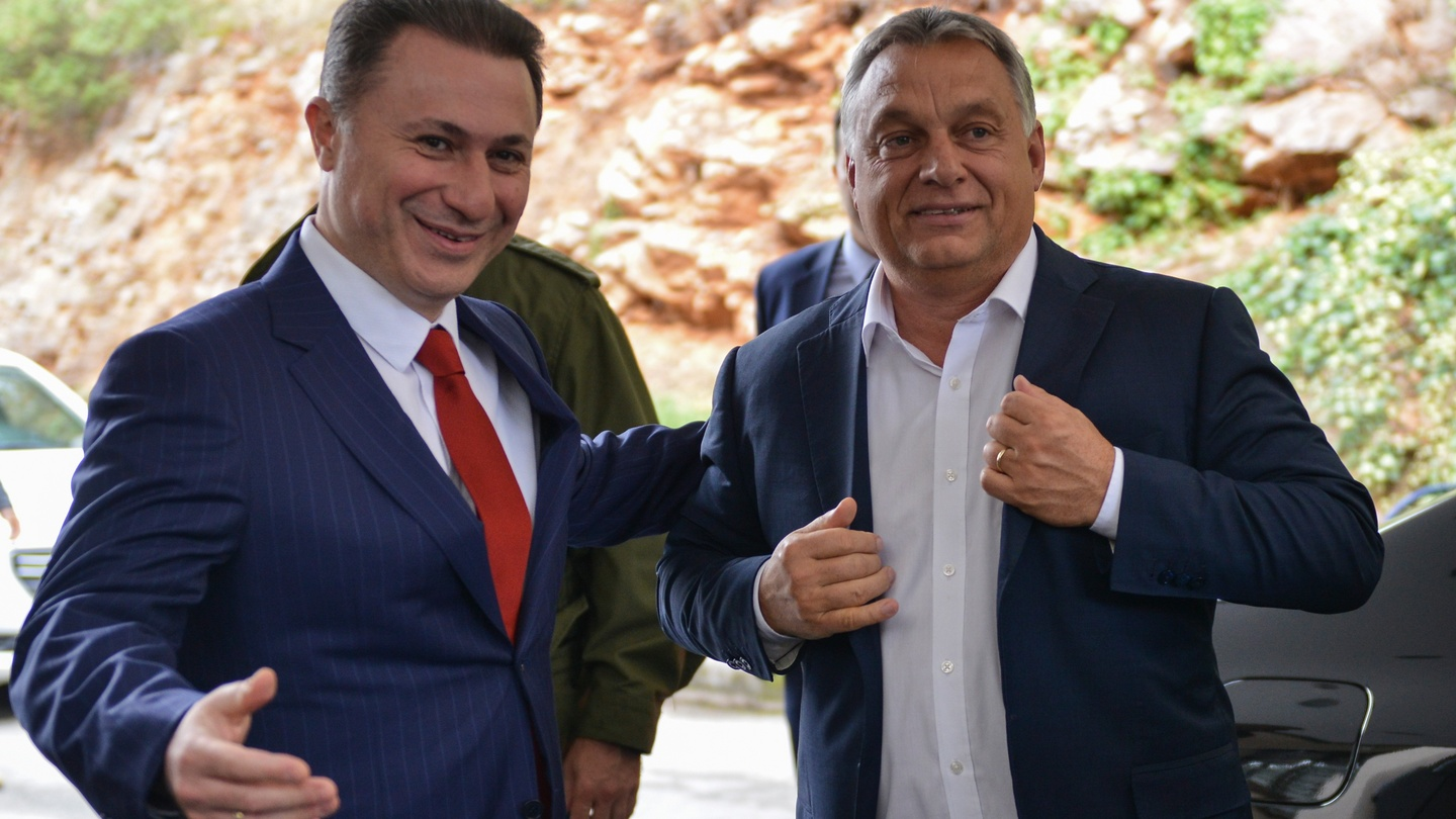 photo Orban says Hungary to evaluate Gruevski extradition request