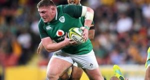 "Tadhg Furlong: ""There's a lot more to the scrum than the tight-head and the front row and the back five, but as a tight-head you have to take a lot of responsibility for it."" Photograph: Getty Images"
