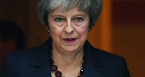 At least, now, the process is underway and UK prime minister Theresa May has taken the leap. The difficulty for her is that wherever this ends up, the UK will be worse off and will have less significant clout and influence. Photograph: Andy Rain/EPA