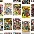 Power for the people: Classic Marvel Comics titles from the 1960s and 1970s. Screengrab via Pinterest