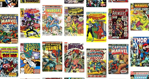 513b5941d99c Power for the people  Classic Marvel Comics titles from the 1960s and  1970s. Screengrab