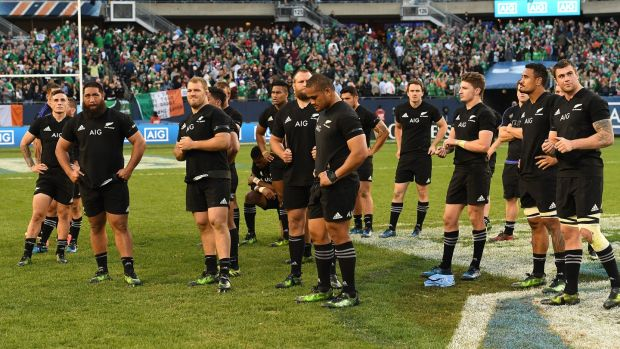 New Zealand still want revenge for Chicgo. Photograph: Andrew Cornaga/Inpho