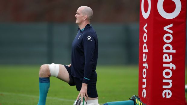 Devin Toner returns to the Ireland team for Saturday's clash with the All Blacks. Photograph: Billy Stickland/Inpho