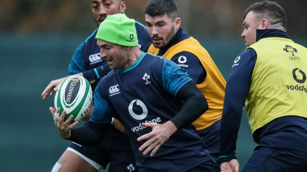 Rob Kearney returns at 15. Photograph: Billy Stickland/Inpho