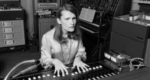 Wendy Carlos at work in her New York City recording studio in 1979. Photograph: Leonard M DeLessio/Corbis via Getty Images
