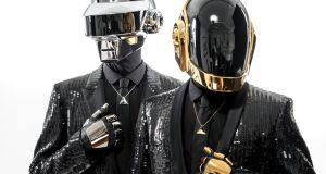 Daft Punk: when composing the soundtrack for 'Tron: Legacy' in 2010, the French duo leaned heavily on Wendy Carlos's soundtrack for the original 1982 film. Photograph: Chad Batka/New York Times