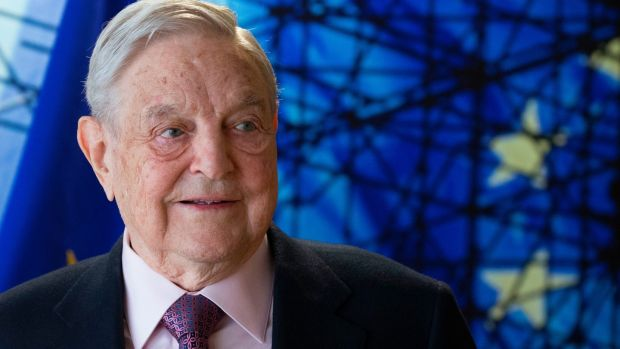 George Soros, founder and chairman of the Open Society Foundations. Photograph: Olivier Hoslet/AFP/Getty Images
