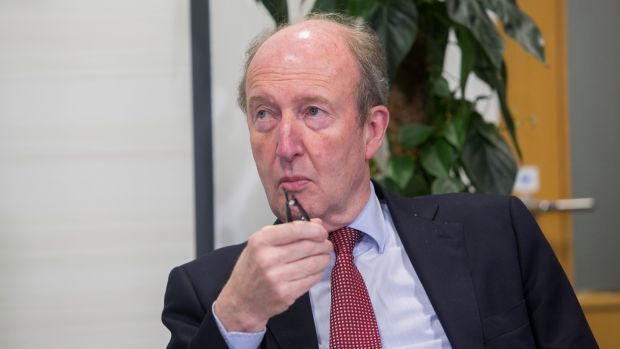 Minister for Transport Shane Ross: accused opponents of the Bill, including Independent Senators Michael McDowell and David Norris, of filibustering. Photograph: Gareth Chaney Collins