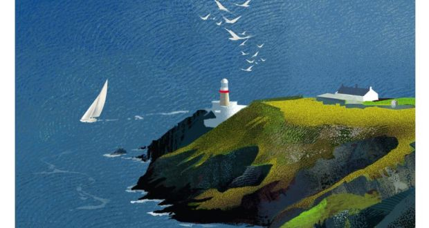 Lighthouses In Ireland Map.A Labour Of Love To Draw Ireland S Lighthouses