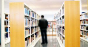 We asked: How good is your college library? Is it well-organised and accessible? Photograph: iStockphoto