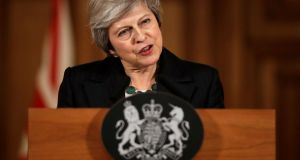 "Theresa May: frequently resorts to the phrase ""our precious Union"". Photograph: Matt Dunham/Reuters"