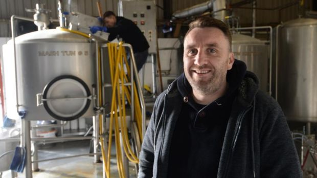 "Stephen Clinch of Trouble Brewing in Kill, Co Kildare: ""It's way harder to start a brewery now than it was four or five years ago."" Photograph: Dara Mac Dónaill"