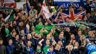 Northern Ireland fans. Photograph: Morgan Treacy/Inpho