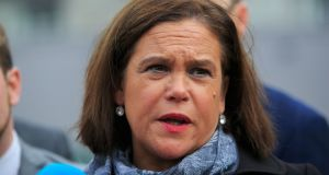Sinn Féin president Mary Lou McDonald said the Taoiseach and the Tánaiste should not be 'harbingers of doom'. Photograph: Gareth Chaney Collins