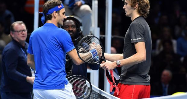 Roger Federer must wait for 100th title after ATP Finals defeat
