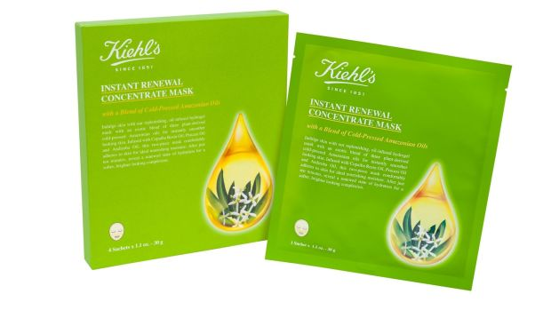 Kiehl's Instant Renewal Concentrate Mask.