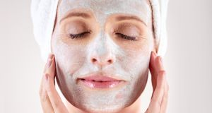 The simple addition of a good mask will  help your November skin a lot.  Photograph: iStock
