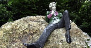 The statue of Oscar Wilde at Merrion Square, Dublin. Photograph: Eric Luke