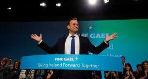 Taoiseach Leo Varadkar's speech to the Fine Gael Ardfheis was 'the clearest manifestation yet' of what he promised he would deliver as Fine Gael leader. Photograph: Nick Bradshaw