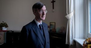 Conservative MP and leading Brexiteer Jacob Rees-Mogg. Photograph: Andrew Testa/New York Times