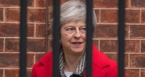 UK prime minister Theresa May will travel to Brussels this week ahead of the summit to meet European Commission president Jean-Claude Juncker. Photograph: Dominic Lipinski/PA Wire