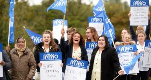 The INMO said its executive council had recommended that members vote in favour of strike action. File photograph: Dara Mac Donaill/The Irish Times