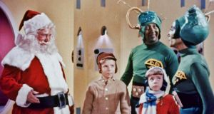 Santa Claus Conquers the Martians: terrible, but features an eight-year-old Pia Zadora as a Martian child
