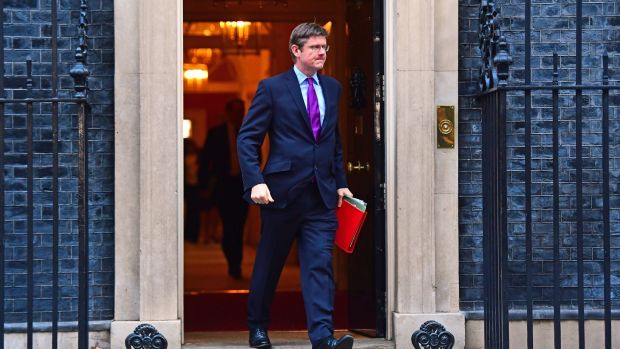 British business secretary Greg Clark said the government was open to the idea of extending the Brexit transition period up to the end of 2022. Photograph: PA