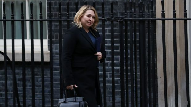 Northern Ireland secretary Karen Bradley said on Monday not accepting the current Brexit deal is not an easy choice. Photograph: Bloomberg