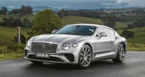 New Bentley Continental GT: Power comes from the 6.0-litre W12 turbo engine, a massive 630hp of it. We'd describe it as 'thundering' if only it weren't so quiet.