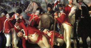 Section of painting of Battle of Ballynahinch (1798) by Thomas Robinson
