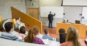 A fifth of the students surveyed said lecturers and teaching staff provided 'very little' feedback on a draft or work in progress. Photograph: iStock