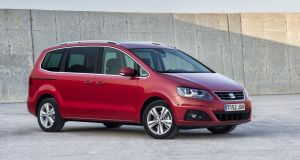 Seat Alhambra: It's no joy to drive, but it's hardly disgraced in that department either