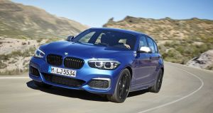 BMW 1 Series: Space inside is not as good as what you'd get in a Mercedes A-Class, or Audi A3, but it's just about big enough to make it a practical family car