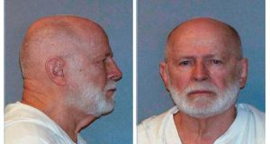 "James ""Whitey"" Bulger, the crime boss and law enforcement informant from Boston, who was killed in Hazelton prison in October. Photograph:  US Marshal Service via The New York Times"